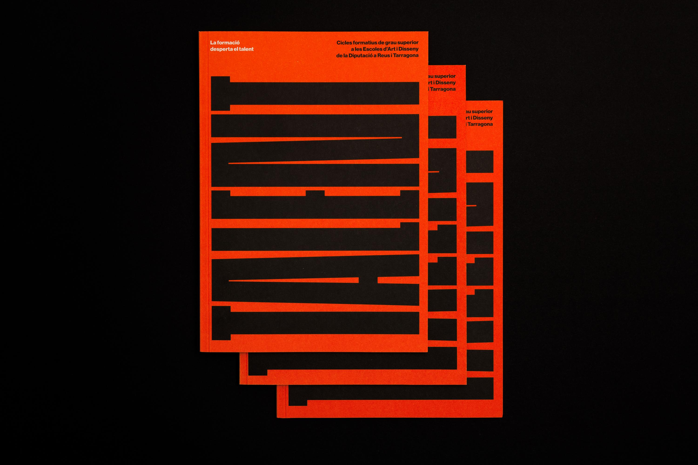 La formació desperta el talent, disseny gràfic Pàkaru estudi creatiu Tarragona