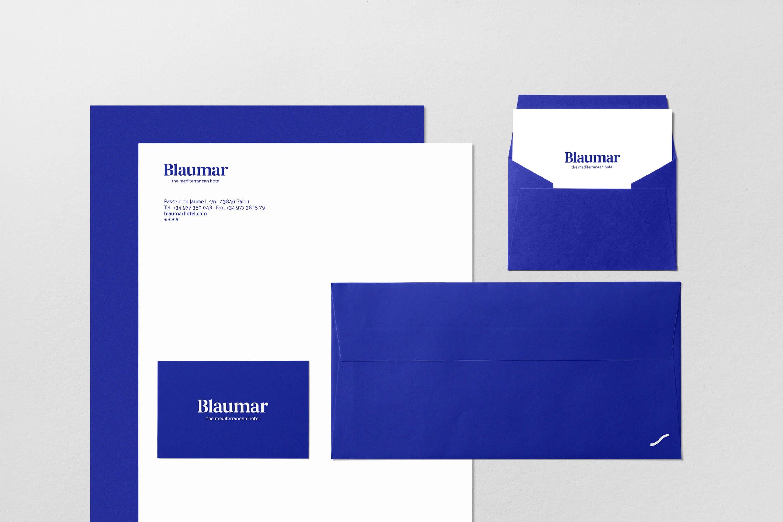 Blaumar, disseny gràfic Pàkaru estudi creatiu Tarragona